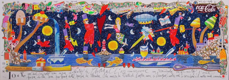 Io e te, noi due in volo come in un dipinto di Chagall